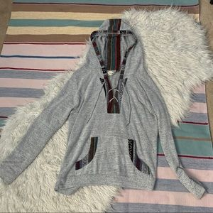 incredibly soft fleece thrift store sweater